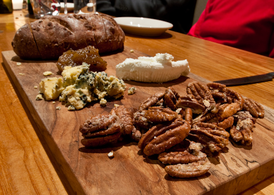 Dai Due - Veldhuizen Bosque Blue with Candied Mohawks, Jujube Paste and Pecan Bread