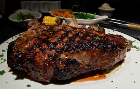 Austin Land & Cattle Company - Porterhouse Steak