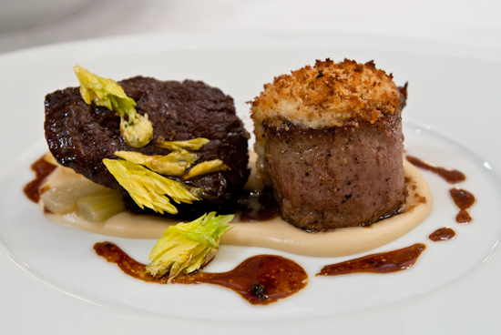 Congress - Veal Tenderloin and Cheek - Celery - Celery Root - Black Truffle