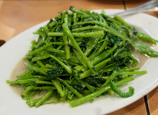 Hollow Stem Vegetable with Bean Sauce