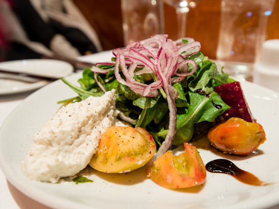 Heirloom Tomato & Housemade Burrata Salad