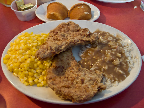 Hard Knox Cafe - Fried Pork Chops