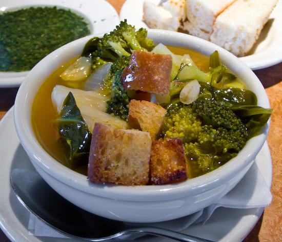 Pasta Pomodoro - Minestrone Soup