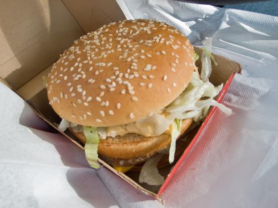 McDonald's - Big Mac and Milk