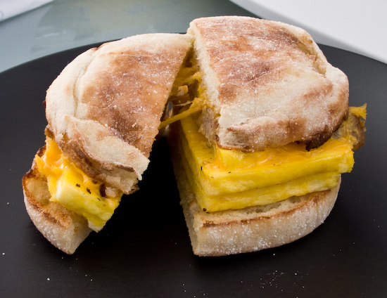Snack Depot - English Muffin with Egg and Sausage