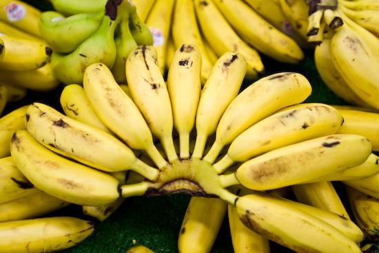A Half Circle of Bananas
