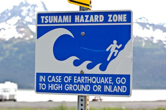 Tsunami Hazard Zone