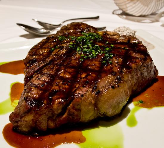 Alexander's Steakhouse - Dry Aged Porterhouse Steak