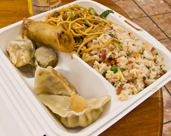 Yank Sing - Phoenix Lunch Plate
