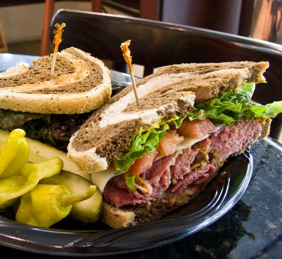 Fry's Electronics - Hot Pastrami sandwich