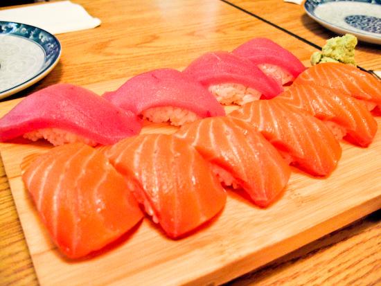 Truya Sushi - Sake Nigiri and Maguro Nigiri