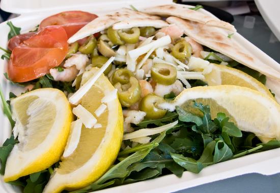 South Beach Cafe - Shrimp Salad