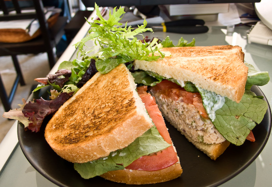 Crossroads Cafe - Cold Tuna Sandwich