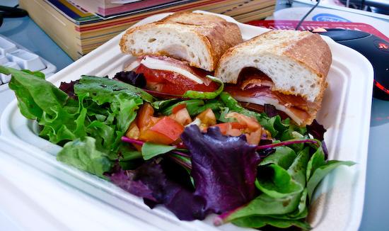 South Beach Cafe - Prosciutto Sandwich