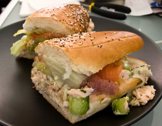 The Sentinel - Salmon Sandwich