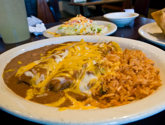 Luvianos Mexican Restaurant - Enchilada and Tamale