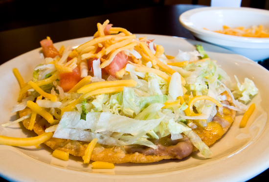 Luvianos Mexican Restaurant - Chalupa