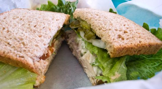 Texas Pie Company - Chicken Salad Sandwich
