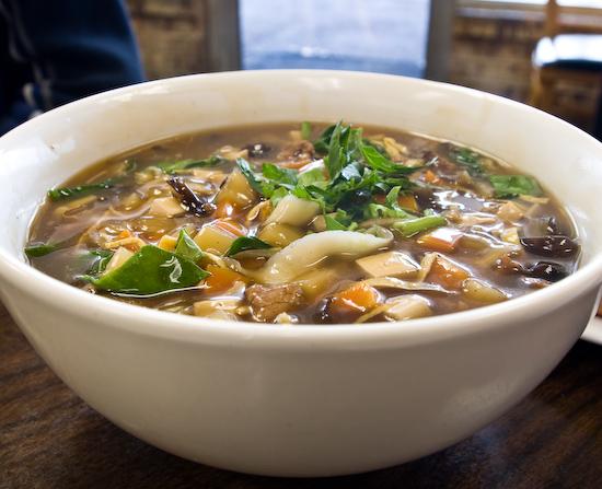 Chen's Noodle House: Combination Noodle Soup