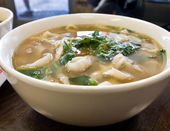 Chen's Noodle House: Lamb Noodle Soup