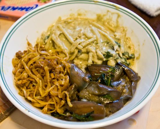 Left over Thai food