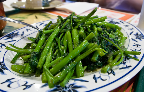 Din Ho Chinese BBQ - Sauteed Water Spinach