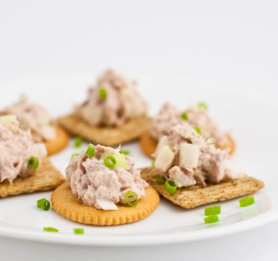 Tuna Salad on Crackers