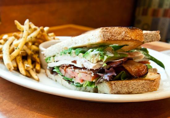 Nordstrom Cafe Bistro - Bistro Club Sandwich