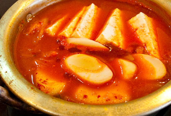 Manna Korean Restaurant - Kimchi jjigae