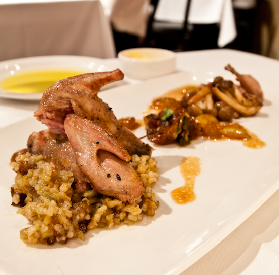Jeffrey's Restaurant - Hill Country Quail