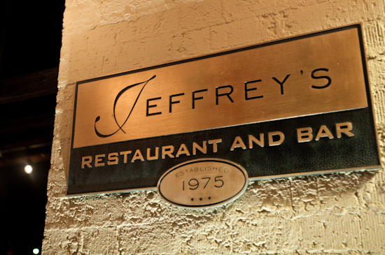 Jeffrey's Restaurant