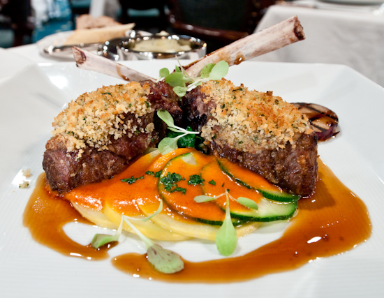 The Driskill Grill - Herbed Crusted Lamb