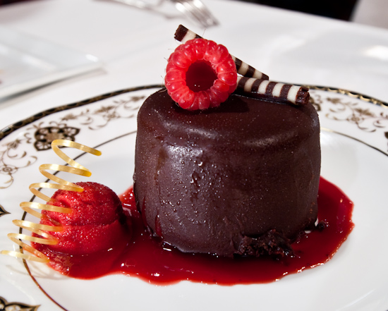 The Driskill Grill - Chocolate-Raspberry Gateau