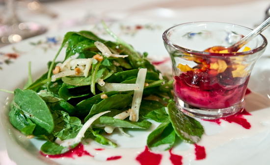 Aquarelle - Marinated Raw Beet Salad