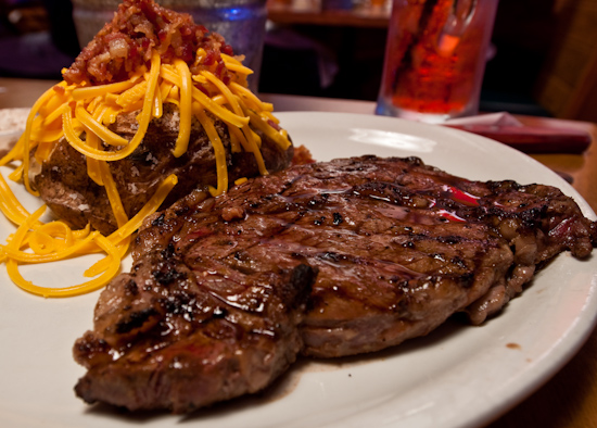 Texas Roadhouse - Ft. Worth Ribeye Steak