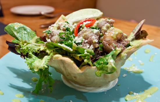 South Congress Cafe - Rock Shrimp Salad