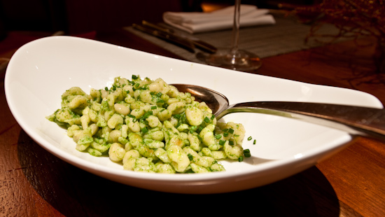 TRIO - Spaetzle with Chives