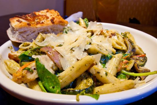 Natural Planet Grill - Tuscan Pesto Pasta with Chicken