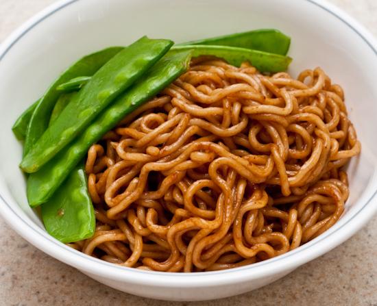 Black Bean Instant Noodles
