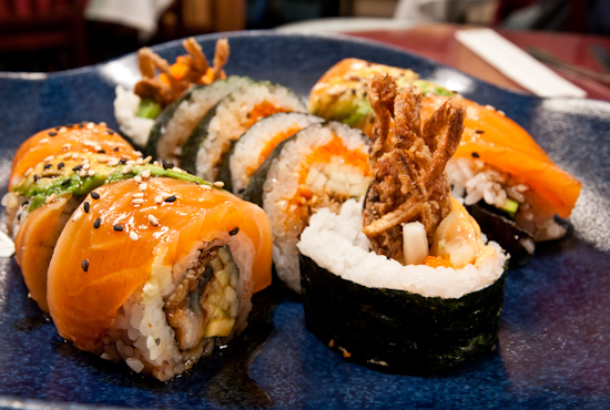 Shogun Sushi - Spider Roll, Alligator Roll