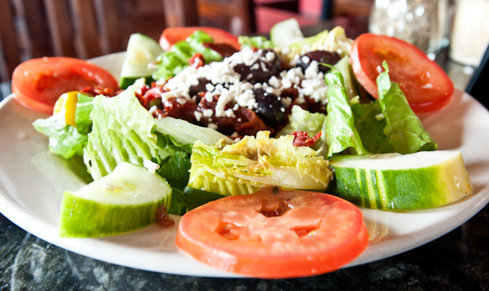 Mangieri's Pizza Cafe - Greek Salad