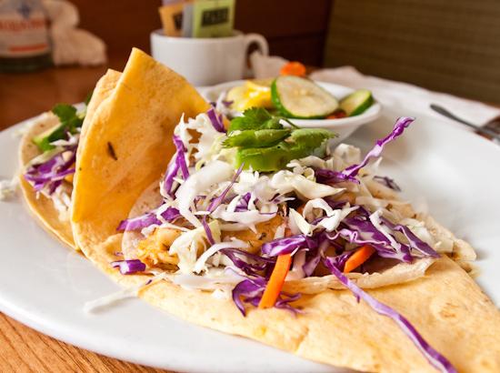 Satellite Bistro and Bar - Fish Tacos