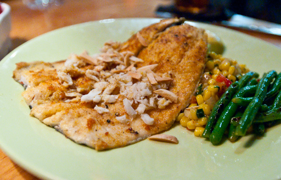 South Congress Cafe - Trout Almondine