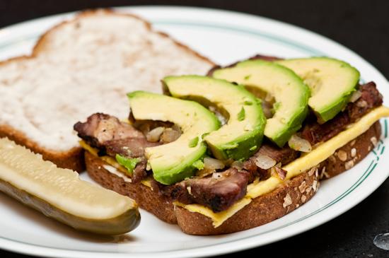 Steak and Egg Sandwich