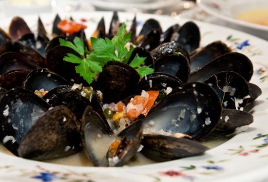 Aquarelle - PEI Mussels