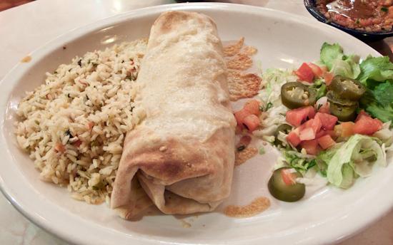 Chuy's - Steak Burrito