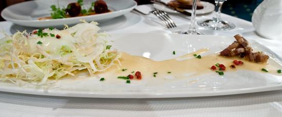 The Driskill Grill - Sous Vide Orangic Egg