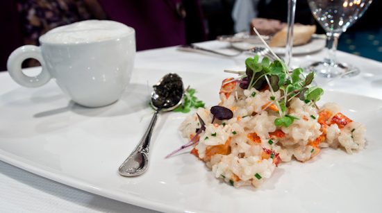 The Driskill Grill - Lobster Risotto with Signature