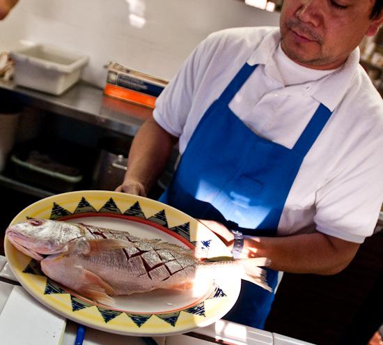 El Pescador - Whole Fish on a Plate