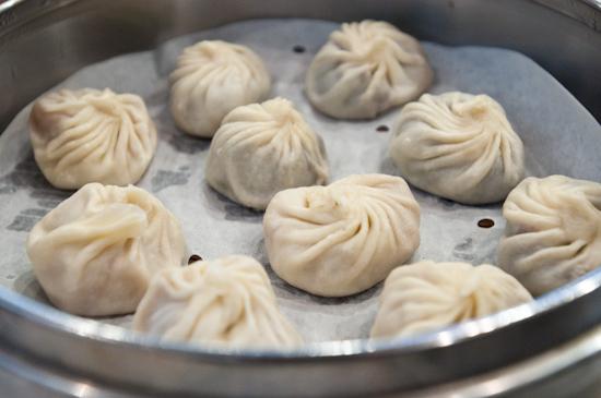 Din Tai Fung - Red bean / sweet taro dumplings